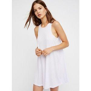 Free People | LA Nite Mini Dress White Sz.S